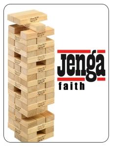 Jenga Faith - Promo Card