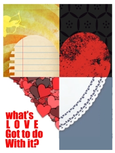 What's Love Got To Do WIth It? - Promo Card